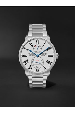 Ulysse Nardin Marine Torpilleur Automatic 42mm Stainless Steel Watch, Ref. No. 1183-310-7M/40