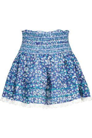 POUPETTE ST BARTH Exclusive to Mytheresa – Galia floral cotton miniskirt