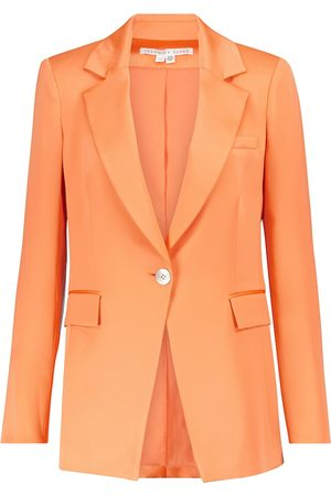 VERONICA BEARD Erie satin blazer