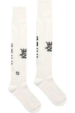 Gucci Intarsia-knit logo sport socks