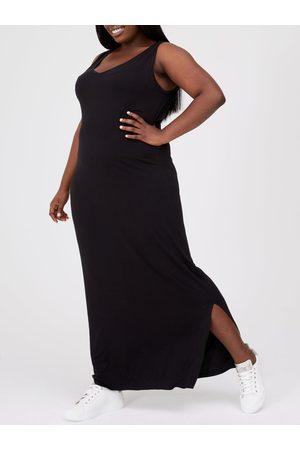 V by Very Curve Side Split Jersey Maxi Dress
