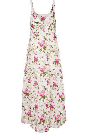 LOVESHACKFANCY Women Midi Dresses - Sabina floral cotton midi dress