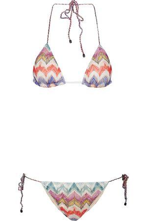 Missoni Zig-zag knit bikini