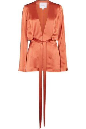 GALVAN Women Blazers - Slashed satin jacket