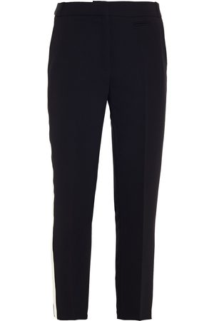 Claudie Pierlot Woman Cropped Crepe Slim-leg Pants Size 34