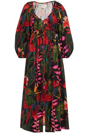 Mara Hoffman Woman Simone Printed Organic Cotton And Tencel-blend Midi Dress Size 4