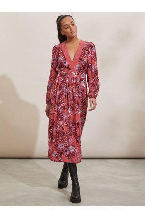 Odd Molly Jaqueline Dress Cranberry
