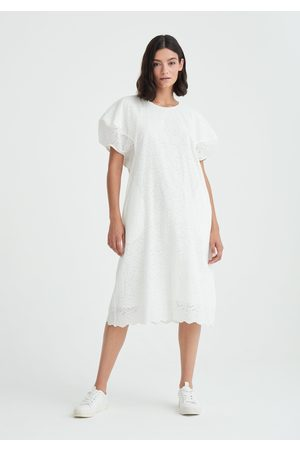 Paisie Palais Embroidered Belted Dress