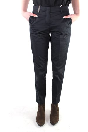 PESERICO SIGN Pant. t.a.strech 305 nero P04718981