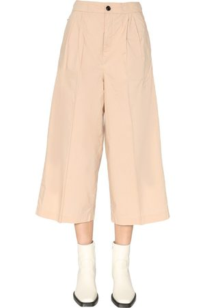 Woolrich WOMEN'S WWTR0085FRUT15098925 BEIGE OTHER MATERIALS PANTS