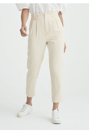 Paisie Cassis Paperbag Trousers