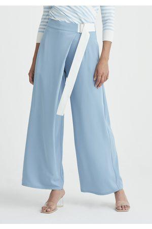Paisie Bloomsbury Wrap Wide Leg Trousers