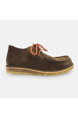 Astorflex Beenflex Moccasin Boot - Dark Chestnut