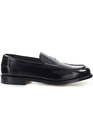 Doucal's LEATHER PENNY LOAFER