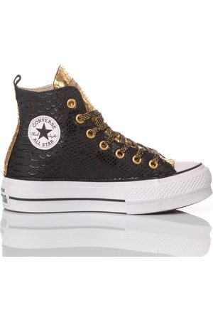 Converse WOMEN'S MIM578 LEATHER HI TOP SNEAKERS