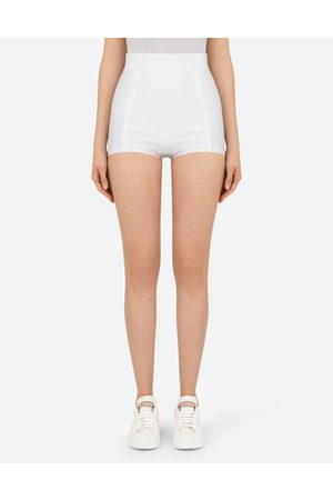 Dolce & Gabbana Women Trousers - Trousers and Shorts - High-waisted panties female 40