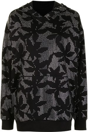 DAVID KOMA Floral embroidered blouse