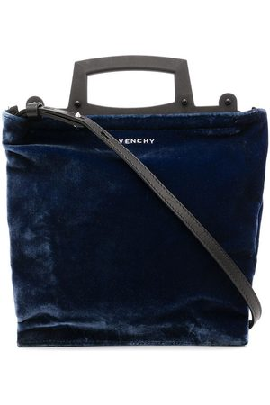 Givenchy Pre-Owned Logo velvet two-way bag