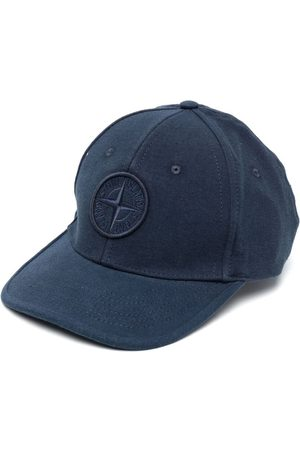Stone Island Embroidered-logo baseball cap