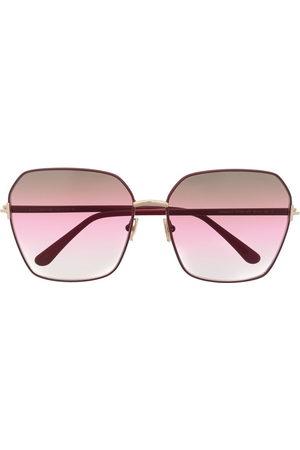 Tom Ford Oversized-frame gradient sunglasses