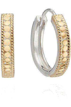 Anna Beck Women Earrings - Classic Hinge Hoop Earring /Gold