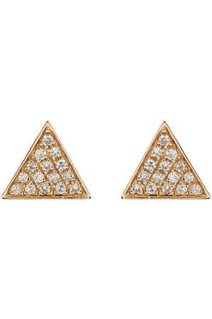 Dana Rebecca Designs Emily Sarah Triangle Diamond Studs