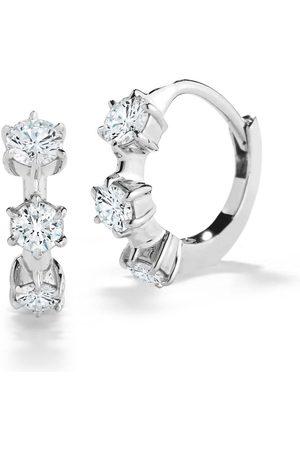 Jade Trau Kismet Mini Diamond Huggies