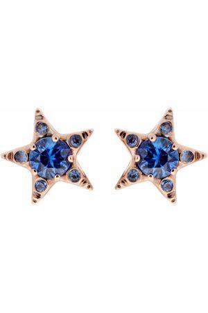 SELIM MOUZANNAR Sapphire Star Earrings