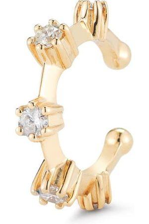 Jade Trau Women Earrings - Yellow Kismet Diamond Ear Cuff