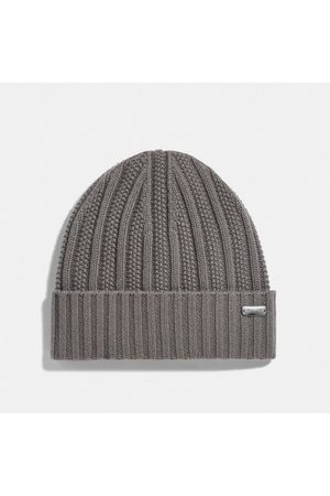 Coach Women Hats - Cashmere Seed Stitch Knit Hat in - Size ONE
