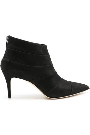 SERGIO LEVANTESI Women Ankle Boots - WOMEN'S JESSYBLACK SUEDE ANKLE BOOTS