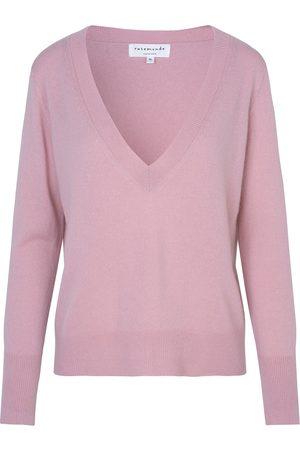 Rosemunde Laica Wool / Cashmere Pullover - Zephyr Rose