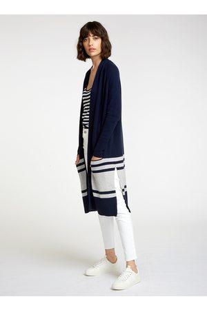 AUTUMN CASHMERE Women Coats - Navy coatigan