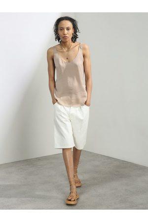 Raey Women Shorts - Board Fold Denim Shorts - Womens