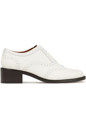 ZIMMERMANN Women Brogues - Woman Perforated Leather Brogues Size 36