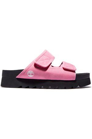 Timberland Santa monica sunrise slide sandal for women in men, size 5