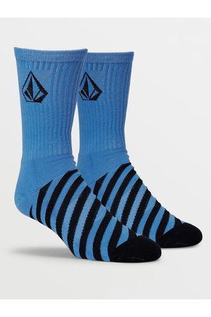 Volcom Men Socks - Men's Vibes Socks - Navy