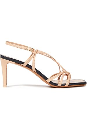 ZIMMERMANN Women Sandals - Woman Knotted Leather Sandals Neutral Size 36