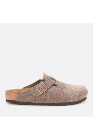 Men Sandals - Birkenstock Men's Boston Wool Mules