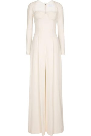 Roland Mouret Women Jumpsuits - Dawlish stretch-crêpe jumpsuit