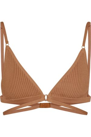DODO BAR OR Ribbed-knit bralette
