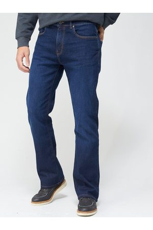 Very Man Bootcut Stretch Jeans - Vintage Wash