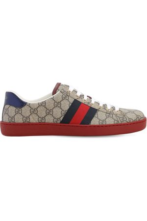 Gucci 25mm Ace Gg Supreme Fabric Sneakers
