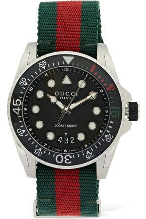Gucci Women Watches - 45mm Dive Web Motif Watch