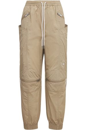 Stella McCartney Oversize Cotton & Tech Pants