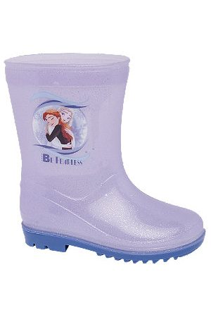 Frozen Girls Wellingtons Boots - Toddler Girls II Lilac Wellies