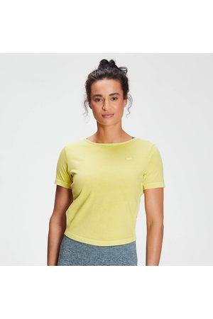 MP Women Sports T-shirts - Women's Raw Training Washed Tie Back T-shirt