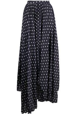 Plan C Women Printed Skirts - Polka dot print skirt