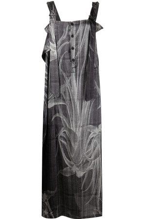 YOHJI YAMAMOTO Deco zip-up dress