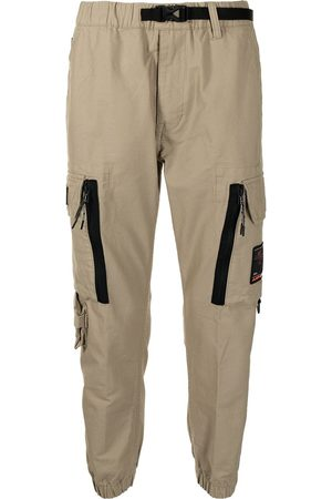 AAPE BY *A BATHING APE® Men Trousers - Logo-patch cargo trousers